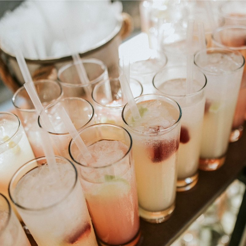 welcome drink bar