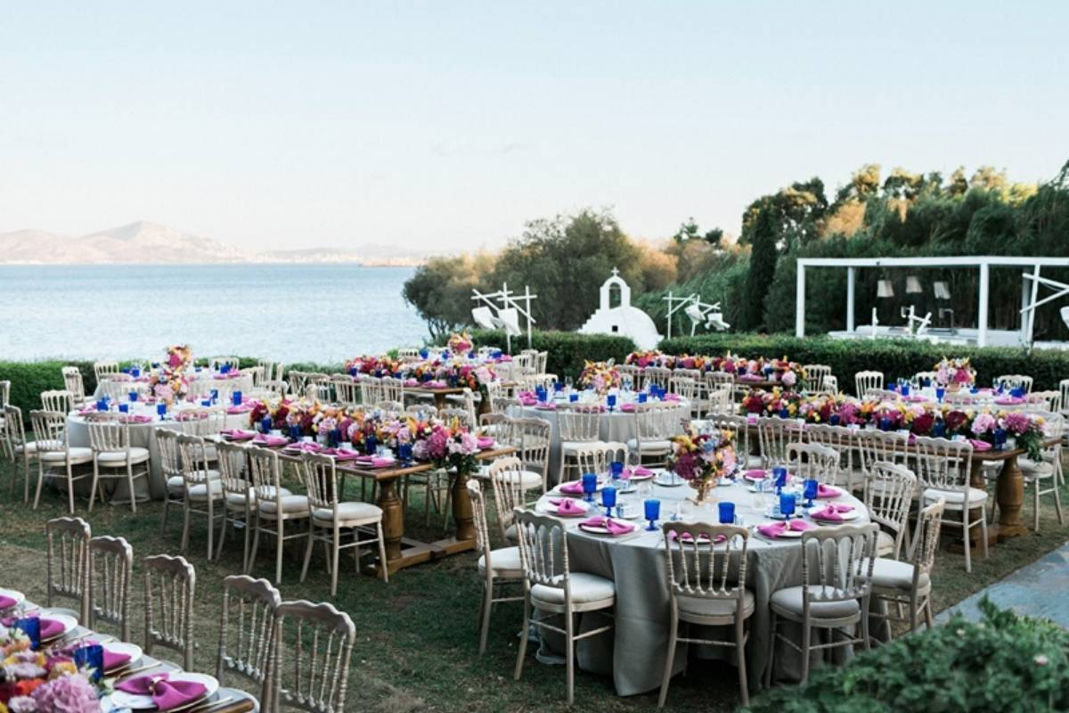 wedding reception in Athens